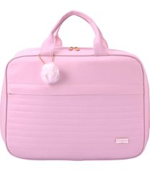 bolsa mala maternidade pirulitando baby nina rosa
