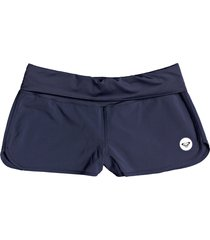 women's roxy endless summer swim shorts, size xx-large - blue
