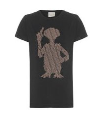 camiseta e.t phone home - preto