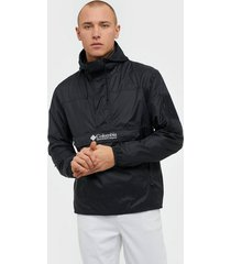 columbia challenger windbreaker jackor black