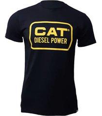 camiseta hombre vintage diesel tee negro cat