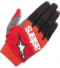 guante racefend rojo alpinestars