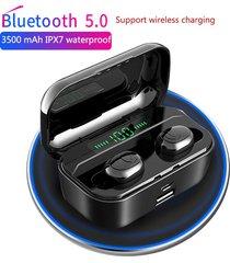 audífonos manos libres tws touch bluetooth ipx7 contra agua