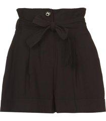 paperbag shorts kito  zwart
