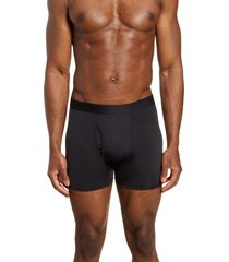 thieves gold solid gold boxer briefs, size large in black at nordstrom