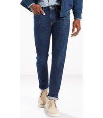 jeans para hombre levi's 511 ajustados - azul