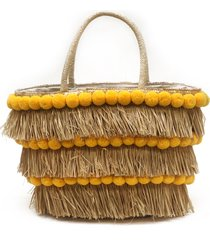 btb los angeles olivia tote in yellow at nordstrom