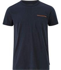 t-shirt med bröstficka, slim fit