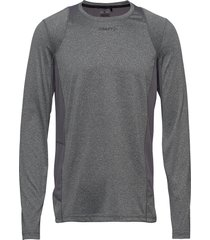 adv essence ls tee m t-shirts long-sleeved grå craft