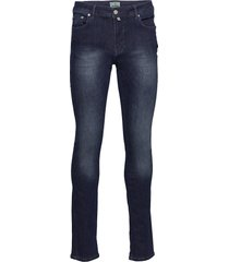 triumph superstretch jeans slimmade jeans blå morris