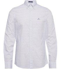 d1. bc print slim bd overhemd business wit gant