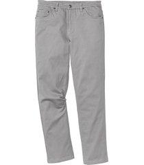 pantaloni elasticizzati classic fit straight (grigio) - bpc bonprix collection