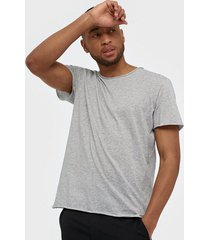 filippa k m. roll neck tee t-shirts & linnen light grey