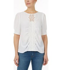 laundry by shelli segal top with lace