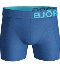 bjorn borg boxers 2-pak solid vallarta blue