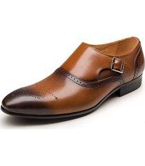 mocasines de vestir mmen cuero oxford hombres de negocios formales