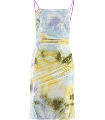 gcds draped asymmetric dress