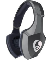 audífonos bluetooth estéreo hd manos libres inalámbricos, s33 on-ear auriculares estéreo inalámbricos audifonos bluetooth manos libres  con luz de flash led audifonos (gris)