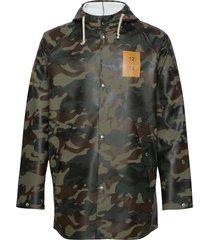 normandie 8000 rain jacket regenkleding groen twelve sixteen