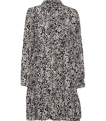 scandi shirt dress knälång klänning multi/mönstrad superdry