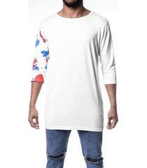 t-shirt thesaint branca manga 3/4 - gg - unissex