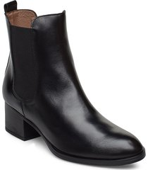 g-5103 shoes boots ankle boots ankle boots with heel svart wonders