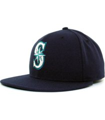 new era seattle mariners mlb authentic collection 59fifty fitted cap