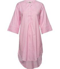 nuaiden dress knälång klänning rosa nümph