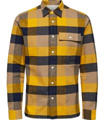 geruit patroon overhemd