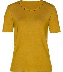 pullover a maniche corte (marrone) - bpc selection