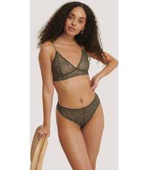 na-kd lingerie stringtrosa - green