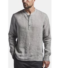 linen pullover shirt