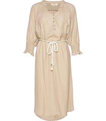 filucacr dress knälång klänning beige cream