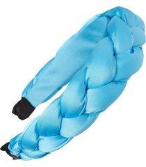 tasha braided headband in turquoise at nordstrom