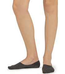calzedonia unisex cotton invisible socks woman grey size 37-39