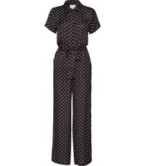 millie jumpsuit jumpsuit zwart lollys laundry