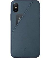 clic card iphone x/xs case - navy