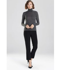 natori modal turtleneck top, women's, size s