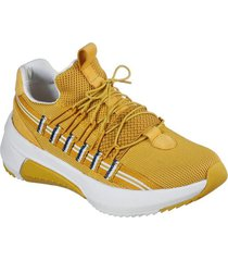 zapatilla modern jogger 2.0 - loop amarillo skechers