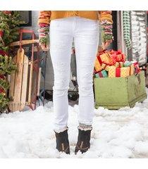 whitewash jeans