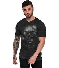 camiseta di nuevo rock black masculina