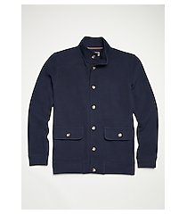 reserve collection cotton knit jacket clearance
