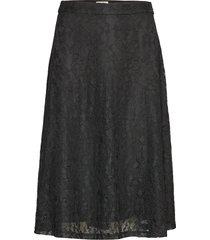 trinity skirt knälång kjol svart twist & tango
