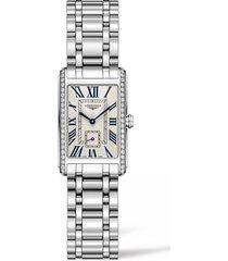 women's longines dolcevita diamond bracelet watch, 20.5mm x 32mm