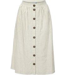 kjol med knappar