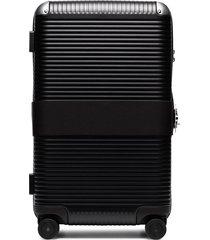 fpm milano trunk on wheels suitcase - black
