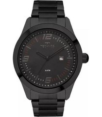 relógio masculino technos 2115moa/4p aço