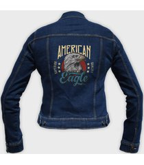 kurtka jeansowa damska amerykański orzeł
