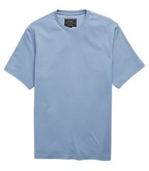 reserve collection traditional fit pima cotton crew neck t-shirt - big & tall