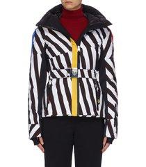 x jcc 'skifi' graphic print ski jacket
